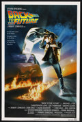 """Movie Posters:Science Fiction, Back to the Future (Universal, 1985). One Sheet (27"""" X 41""""). ..."""