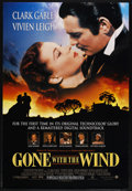 "Movie Posters:Academy Award Winner, Gone with the Wind (MGM, R-1998). One Sheet (27"" X 40"") Advance. SS. ..."