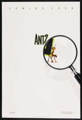 "Movie Posters:Animated, Antz (DreamWorks SKG, 1998). One Sheets (2) (27"" X 40"") DS Advance.Animated. ..."
