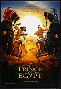 "The Prince of Egypt (Dreamworks, 1998). One Sheets (2) (27"" X 40"") Advance (both). DS (both). ... (Total: 2 It..."