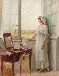 Fine Art - Painting, European:Antique  (Pre 1900), HENRY PAUL PERRAULT (French, 1867-1932). Hurry Home. Oil oncanvas. 57 x 75 inches (144.8 x 190.5 cm). Signed lower righ...