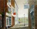 Paintings, GEORGE HORNE (British, 20th Century). Arlington Row and Sally Lunns House. Oil on canvas. 8 x 10 inches (20.3 x 25.4... (Total: 2 Items)