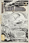 Original Comic Art:Covers, Henry Scarpelli (attributed) Life With Archie #186 CoverOriginal Art (Archie, 1977)....