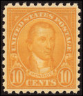 Stamps, 1¢ - 10¢ Definitives, Perf 10 (581-91),...