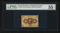 Fractional Currency:First Issue, Fr. 1229 5¢ First Issue PMG About Uncirculated 55 EPQ....