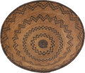 American Indian Art:Baskets, AN APACHE COILED TRAY. c. 1915...