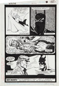 Original Comic Art:Covers, Todd McFarlane and Ernie Chan Detective Comics #576 page 30Original Art (DC, 1987)....