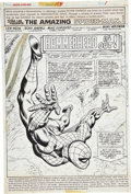 Original Comic Art:Splash Pages, Ross Andru and Mike Esposito The Amazing Spider-Man #158Splash page 1 Original Art (Marvel, 1976)....