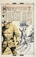 Original Comic Art:Covers, Luis Dominguez Weird Western Tales #29 Jonah Hex CoverOriginal Art (DC, 1975)....