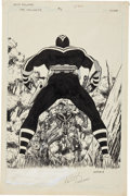 Original Comic Art:Covers, Keith Pollard Vigilante #3 Cover Original Art (DC, 1984)....