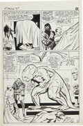 Original Comic Art:Panel Pages, Jack Kirby and Chic Stone Fantastic Four #35 FirstAppearance of Dragon Man page 9 Original Art (Marvel, 1965)....