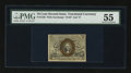 Fractional Currency:Second Issue, Fr. 1246 10¢ Second Issue PMG About Uncirculated 55....