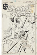 Original Comic Art:Covers, Jose Delbo and Dick Giordano Wonder Woman #258 Cover Original Art (DC, 1979)....