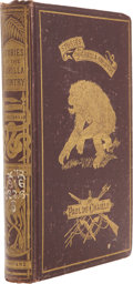 Books:Signed Editions, Paul Du Chaillu. Stories of the Gorilla Country. Narrated for Young People. New York: Harper & Brothers, Publish...
