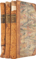 Books:Fiction, [Sir Walter Scott]. Rob Roy. Edinburgh: Archibald Constableand Co., 1818. First edition. Three twelvemo volumes... (Total: 3Items)