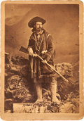 "Photography:Cabinet Photos, ""Buffalo Bill"" Cody: Cabinet Card, Circa Early 1880s...."