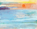 Fine Art - Painting, American:Contemporary   (1950 to present)  , PROPERTY OF MRS. RUTH CARTER-STEVENSON. PAUL WONNER (American,1920-2008). Sea at Malibu, 1964. Gouache and waterc...