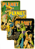 Golden Age (1938-1955):Science Fiction, Planet Comics Group (Fiction House, 1944-46) Condition: AverageFR.... (Total: 6 Comic Books)