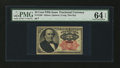 Fractional Currency:Fifth Issue, Fr. 1308 25¢ Fifth Issue PMG Choice Uncirculated 64 EPQ....