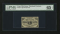 Fractional Currency:Third Issue, Fr. 1226 3¢ Third Issue PMG Gem Uncirculated 65 EPQ....