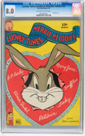 Golden Age (1938-1955):Funny Animal, Looney Tunes and Merrie Melodies Comics #29 (Dell, 1944) CGC VF 8.0Off-white to white pages....