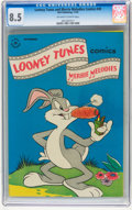 Golden Age (1938-1955):Cartoon Character, Looney Tunes and Merrie Melodies Comics #49 (Dell, 1945) CGC VF+ 8.5 Off-white to white pages....