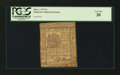 Colonial Notes:Delaware, Delaware May 1, 1777 6s PCGS Very Fine 20....