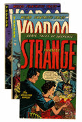 Golden Age (1938-1955):Horror, Strange Fantasy/Voodoo Group (Farrell, 1952-54).... (Total: 4 ComicBooks)