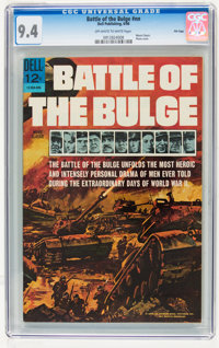 Movie Classics: Battle of the Bulge #nn File Copy (Dell, 1966) CGC NM 9.4 Off-white to white pages