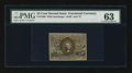 Fractional Currency:Second Issue, Fr. 1286 25¢ Second Issue PMG Choice Uncirculated 63....