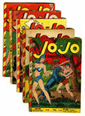 Golden Age (1938-1955):Funny Animal, Jo-Jo Comics Group (Fox Features Syndicate, 1947-49).... (Total: 5Comic Books)