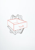 Post-War & Contemporary:Pop, MICHAEL CRAIG-MARTIN (Irish, b. 1941). Drawer (from Order ofAppearance), 1990. Screenprint in colors. 46-1/2 x 32-3/4 ...