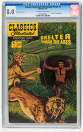 Golden Age (1938-1955):Classics Illustrated, Classics Illustrated Educational Series - Shelter Through the Ages #1 (Gilberton, 1951) CGC VF 8.0 Off-white to white pages....