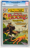 Silver Age (1956-1969):Western, Legends of Daniel Boone #8 (DC, 1956) CGC VF/NM 9.0 Off-white towhite pages....