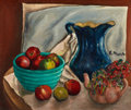 Impressionism & Modernism:post-Impressionism, ELISÉE MACLET (French, 1881-1962). Still Life with Apples.Oil on canvasboard. 20 x 24 inches (50.8 x 61.0 cm). Signed c...
