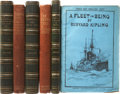 Books:First Editions, Rudyard Kipling. Three First Editions, including: Barrack RoomBallads and Other Verses. [and:] The Seven Seas.... (Total:3 Items)