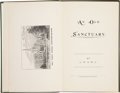 Books:First Editions, [William Shakespeare]. L. H. & M. L. An Old Sanctuary:Shakespeare's Resting Place. Stratford-on-Avon: Herald Pr...