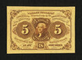 Fractional Currency:First Issue, Fr. 1231SP 5¢ First Issue Face Choice New....