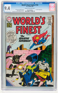 Silver Age (1956-1969):Superhero, World's Finest Comics #126 (DC, 1962) CGC NM 9.4 Cream to off-white pages....