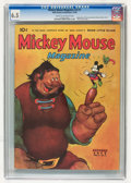 Golden Age (1938-1955):Cartoon Character, Mickey Mouse Magazine V4#1 (K. K. Publications/ Western PublishingCo., 1938) CGC FN+ 6.5 Cream to off-white pages....