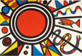 Prints:Contemporary, ALEXANDER CALDER (American, 1898-1976). Environment andEvolution, circa 1973 . Color lithograph . 26-1/2 x 38-1/2inche...