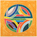 Fine Art - Work on Paper:Print, FRANK STELLA (American, b. 1936). Sinjerli Variation Squaredwith Colored Ground, 1981. Offset lithograph with screenpri...