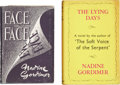 Books:Signed Editions, Nadine Gordimer. Two Signed First Editions, including: Face to Face. Johannesburg: Silver Leaf Books, [1949]. First ... (Total: 2 Items)