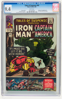 Tales of Suspense #69 (Marvel, 1965) CGC NM 9.4 White pages