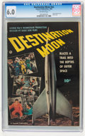 Golden Age (1938-1955):Science Fiction, Fawcett Movie Comic #nn Destination Moon (Fawcett, 1950) CGC FN 6.0Off-white pages....