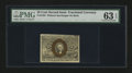 Fractional Currency:Second Issue, Fr. 1283 25¢ Second Issue PMG Choice Uncirculated 63 EPQ....
