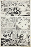 Original Comic Art:Panel Pages, Jack Kirby and Vince Colletta Thor #165 page 15 Original art(Marvel, 1969)....