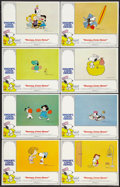 """Movie Posters:Animated, Snoopy, Come Home! (National General, 1972). Lobby Card Set of 8(11"""" X 14""""). Animated.. ... (Total: 8 Items)"""
