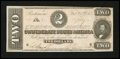 Confederate Notes:1863 Issues, T70 $2 1864.. ...