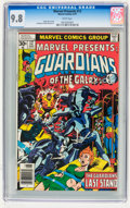 Magazines:Science-Fiction, Marvel Presents #12 Guardians of the Galaxy (Marvel, 1977) CGCNM/MT 9.8 White pages....